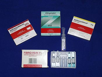 Agentes utilizados para escleroterapia - Embolution